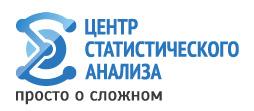 Центр статистического анализа - Статистический анализ данных: консалтинг, тренинги, обучение